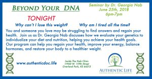 Unconventional Weight Loss Seminar