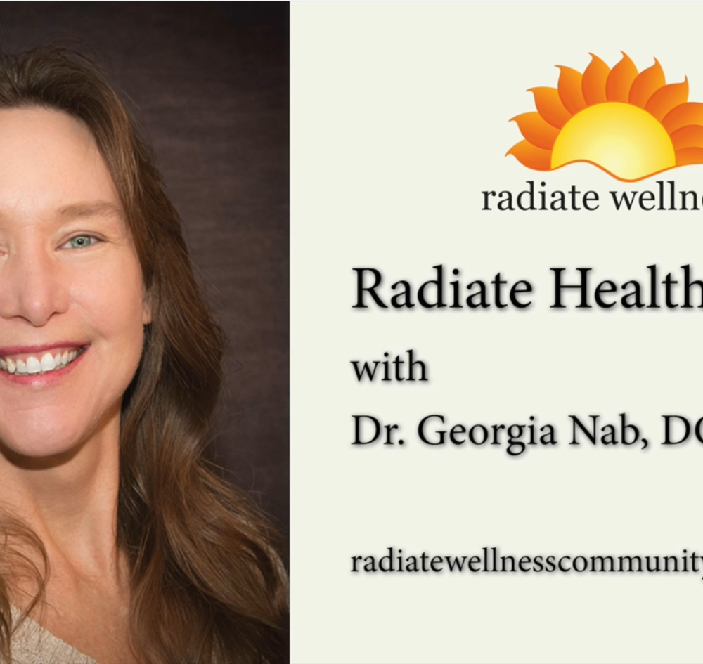 Dr. Georiga Nab on the Radiate Wellness Podcast