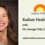 Dr. Georiga Nab on the Radiate Wellness Podcast