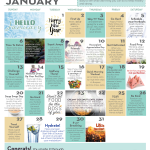 January Wellness Calendar